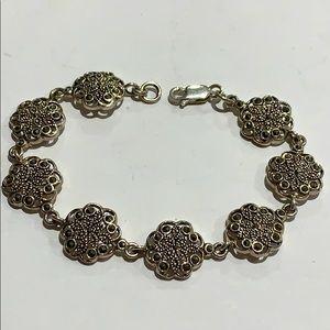 Jewelry - 925 Sterling Silver Marcasite Bracelet